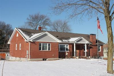 New Britain Single Family Home For Sale: 210 Blake Road