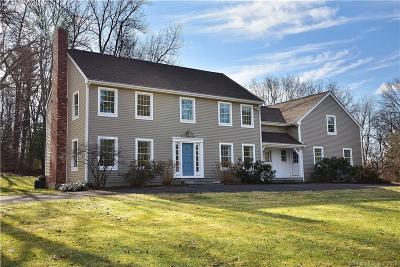 Tolland Single Family Home For Sale: 24 Stonehedge Drive