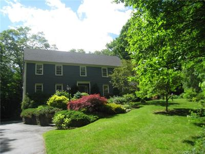 Ridgefield Single Family Home For Sale: 163 Limestone Road