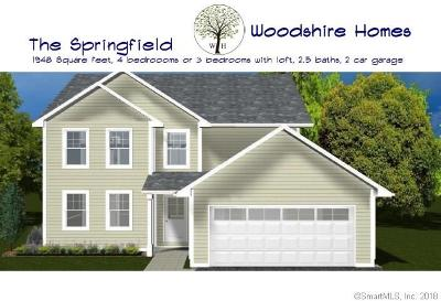 Southington Single Family Home For Sale: 2809 Meriden Waterbury Turnpike