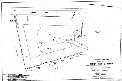 Wilton Residential Lots & Land For Sale: 55 Hickory Hill Road
