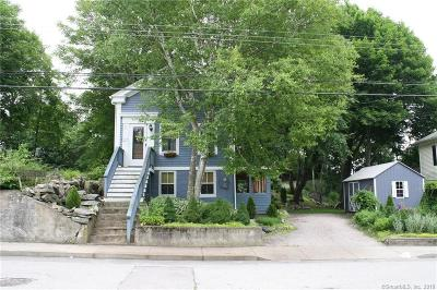 Stonington Single Family Home For Sale: 21 Downer Street
