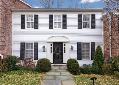 New Canaan Condo/Townhouse For Sale: 312 Elm Street #16
