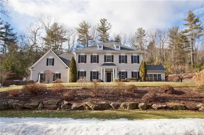 Simsbury Single Family Home For Sale: 5 The Glade