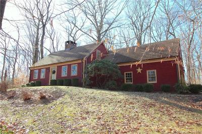 Ridgefield Single Family Home For Sale: 19 Silver Spring Road