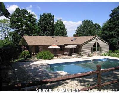 Ellington Single Family Home For Sale: 5 Kibbe Road