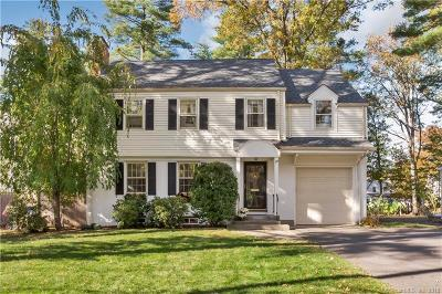 West Hartford Single Family Home For Sale: 109 Foxcroft Road