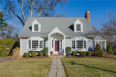 West Hartford Single Family Home For Sale: 22 Walbridge Road