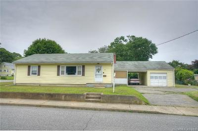 Groton CT Single Family Home For Sale: $195,000