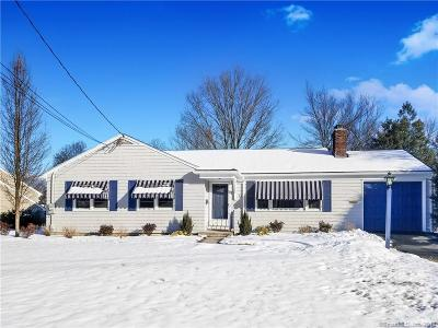 West Hartford Single Family Home For Sale: 32 Race Brook Road