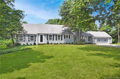 New Canaan Single Family Home For Sale: 357 Jelliff Mill Road