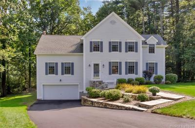 Simsbury Single Family Home For Sale: 12 Sidney Way
