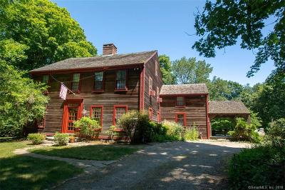 Stonington Single Family Home For Sale: 870 Pequot Trail