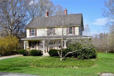 Pomfret Single Family Home For Sale: 43 Woodstock Road