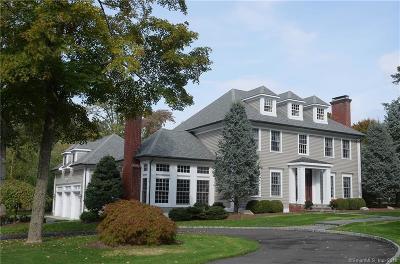 Ridgefield Single Family Home For Sale: 50 Peaceable Street