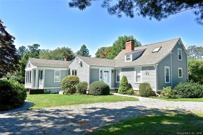 Old Lyme Single Family Home For Sale: 12 Beckwith Lane