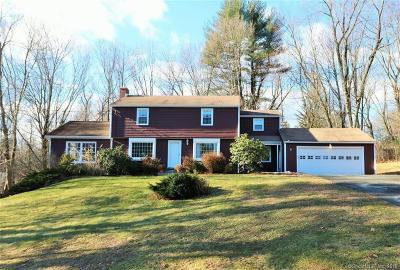 Simsbury Single Family Home For Sale: 3 Overlook Terrace