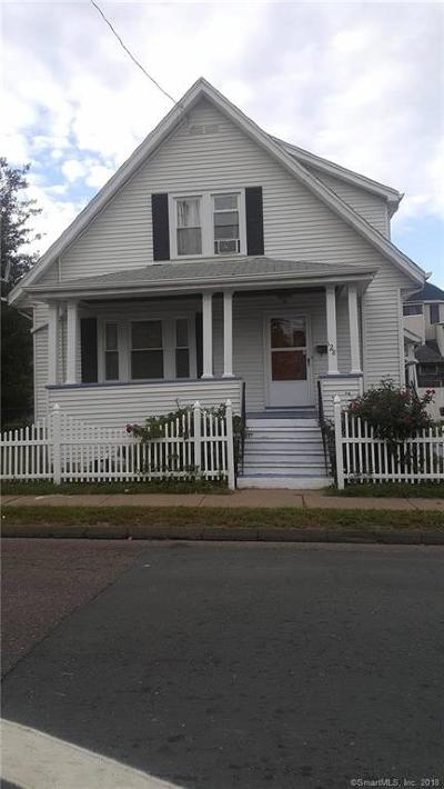 Hartford Single Family Home For Sale: 128 Otis Street