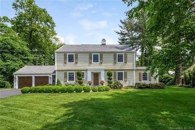 West Hartford Single Family Home For Sale: 50 Pilgrim Road