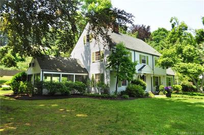 West Hartford Single Family Home For Sale: 477 Mountain Road