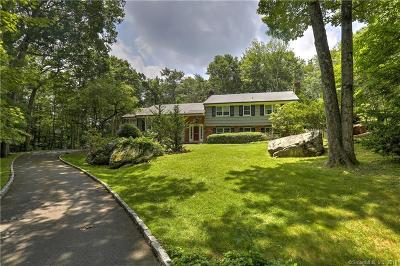 New Canaan Single Family Home For Sale: 15 Thayer Pond Road