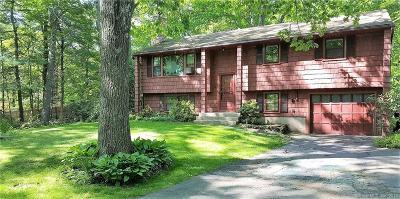 Tolland Single Family Home For Sale: 309 Sugar Hill Road