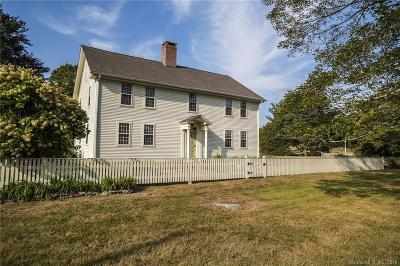 Stonington Single Family Home For Sale: 704 Al Harvey Road