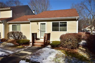 Tolland County Condo/Townhouse For Sale: 59 Stone Pond Road #59