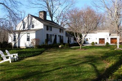 Wilton Single Family Home For Sale: 651 Nod Hill Road