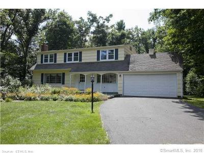 Simsbury Single Family Home For Sale: 1 Briarwood Drive