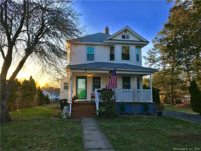West Hartford Single Family Home For Sale: 261 Newington Road