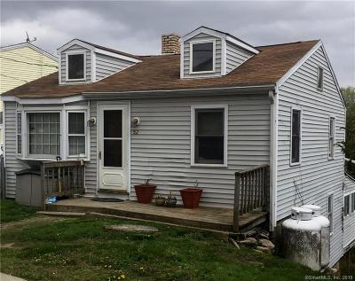Danbury Single Family Home For Sale: 52 Merrimac Street