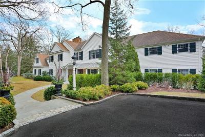 Darien Single Family Home For Sale: 48 Blueberry Lane