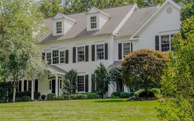 Wilton Single Family Home For Sale: 35 Scribner Hill Road