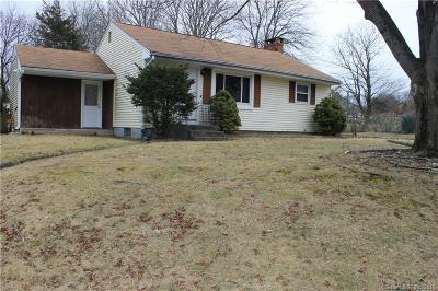 Meriden Single Family Home For Sale: 111 Brooklawn Drive