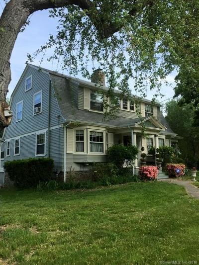 Wethersfield Single Family Home For Sale: 140 Maple Street