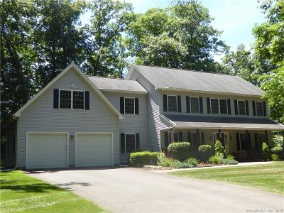 Cheshire Single Family Home For Sale: 235 Moss Farms Road