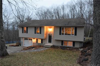 Tolland County, Windham County Single Family Home For Sale: 40 Snake Meadow Hill Road