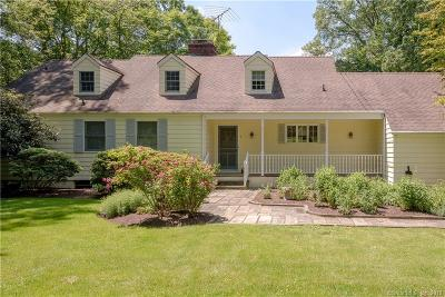 Wilton Single Family Home For Sale: 5 Little Brook Road