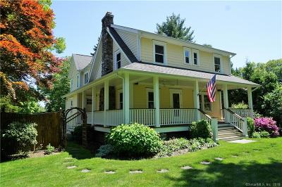 Darien Single Family Home For Sale: 123 West Avenue