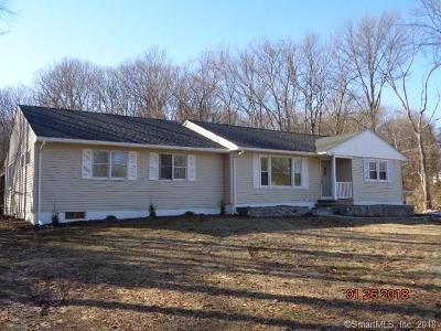 Wolcott Single Family Home For Sale: 272 Todd Road