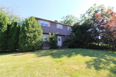 Meriden Single Family Home For Sale: 70 Holiday Hill Road