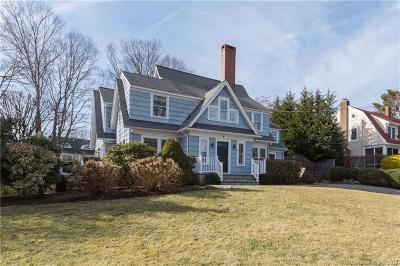 Darien Single Family Home For Sale: 8 Beach Drive