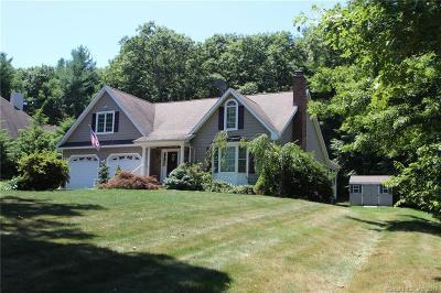 Ellington Single Family Home For Sale: 5 Highland Oak Drive