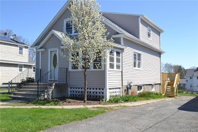 Danbury Single Family Home For Sale: 12 Edgewood Street