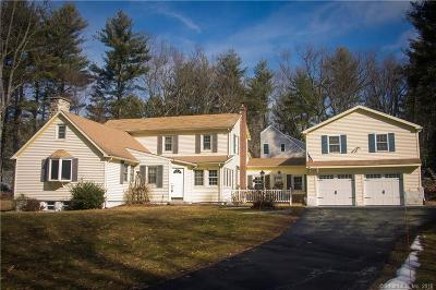 Simsbury Single Family Home For Sale: 380 West Mountain Road