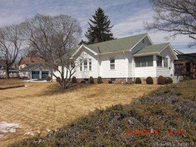 Meriden Single Family Home For Sale: 47 Wilbur Avenue