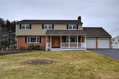Wethersfield Single Family Home For Sale: 138 Surrey Drive