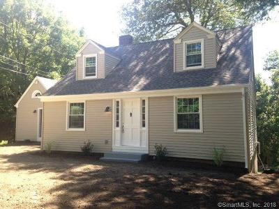 Stonington Single Family Home For Sale: 185 Pequot Trail