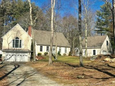 Griswold Single Family Home For Sale: 60 Coal Pit Hill Road